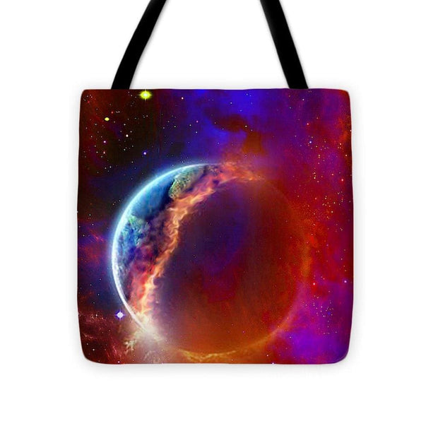 Ruptured Moon - Tote Bag - 16 x 16 - Tote Bag
