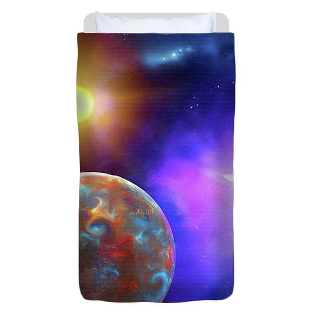 Scenic Fly-by - Duvet Cover - Twin - Duvet Cover