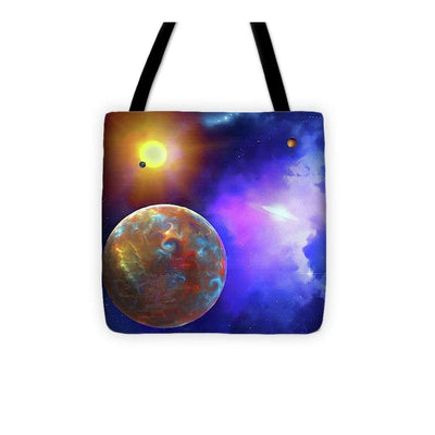 Scenic Fly-by - Tote Bag - 13 x 13 - Tote Bag