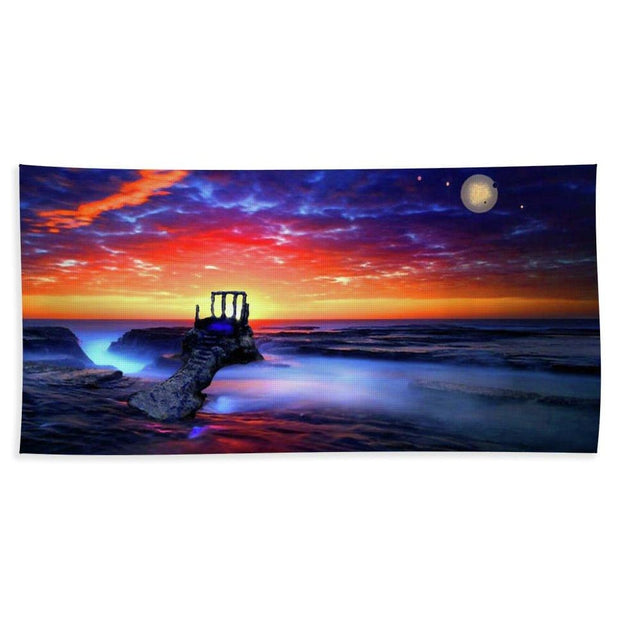 Speak To The Sky - Bath Towel - Bath Sheet (37 x 74) - Bath Towel