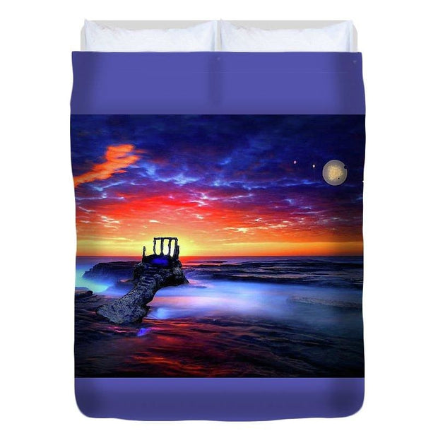 Speak To The Sky - Duvet Cover - Full - Duvet Cover