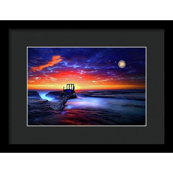 Speak To The Sky - Framed Print - 12.000 x 8.000 / Black / Black - Framed Print