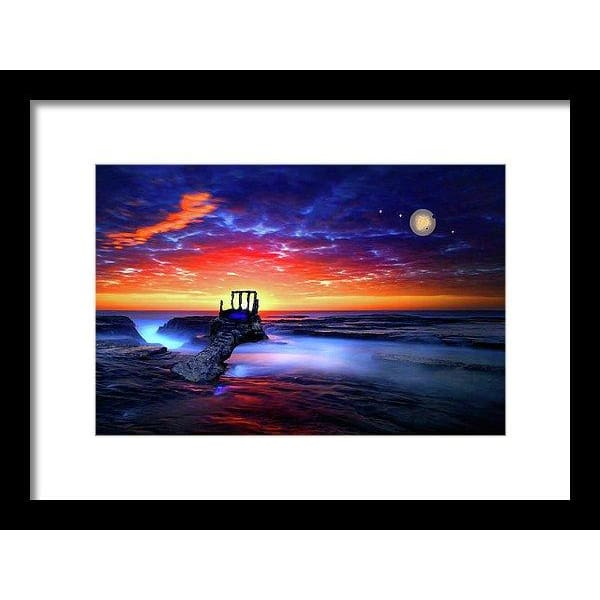 Speak To The Sky - Framed Print - 12.000 x 8.000 / Black / White - Framed Print