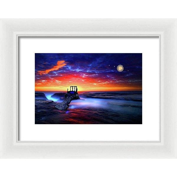 Speak To The Sky - Framed Print - 12.000 x 8.000 / White / White - Framed Print