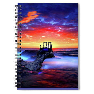 Speak To The Sky - Spiral Notebook - 6 x 8 - Spiral Notebook