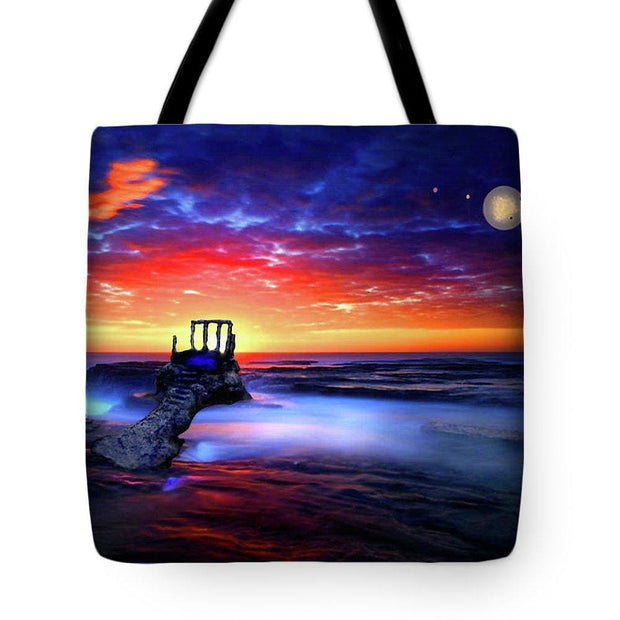 Speak To The Sky - Tote Bag - 18 x 18 - Tote Bag