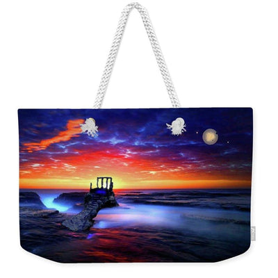 Speak To The Sky - Weekender Tote Bag - 24 x 16 / White - Weekender Tote Bag