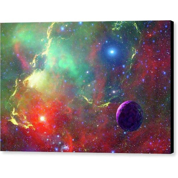 Star Factory - Canvas Print - 12.000 x 8.000 / Black / Glossy - Canvas Print