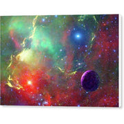 Star Factory - Canvas Print - 12.000 x 8.000 / White / Glossy - Canvas Print