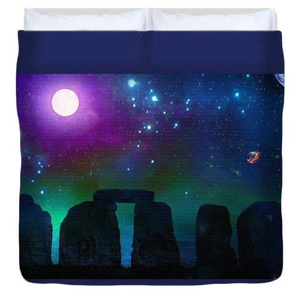 Stonebuilders #2 - Duvet Cover - King - Duvet Cover
