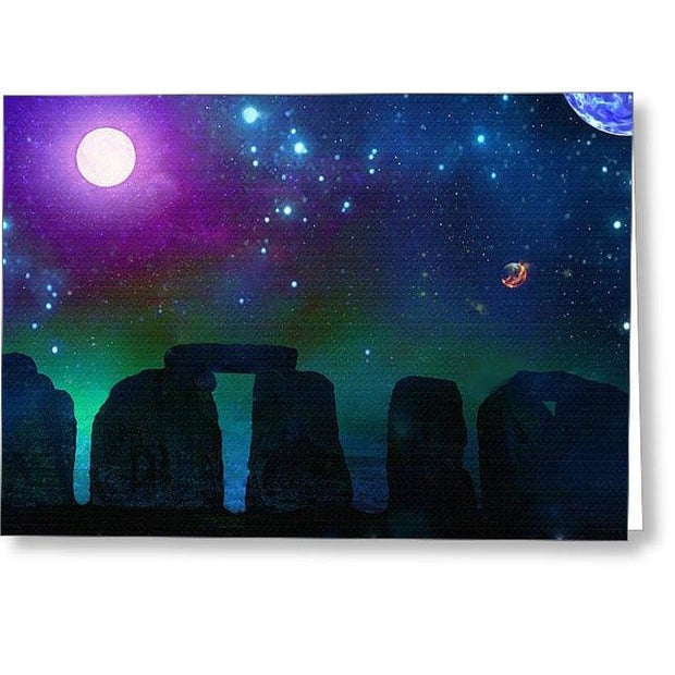 Stonebuilders #2 - Greeting Card - Single Card - Greeting Card