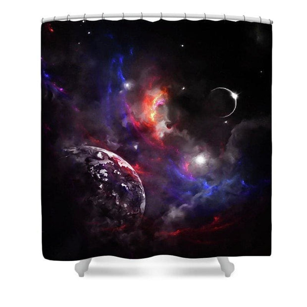 Strangers In The Night - Shower Curtain - 71 x 74 Standard - Shower Curtain