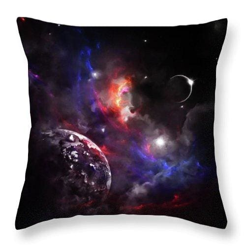 Strangers In The Night - Throw Pillow - 16 x 16 / No - Throw Pillow