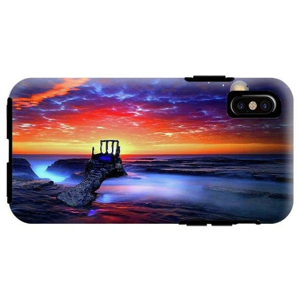 Talk To The Sky - Phone Case - IPhone X Tough Case - Phone Case
