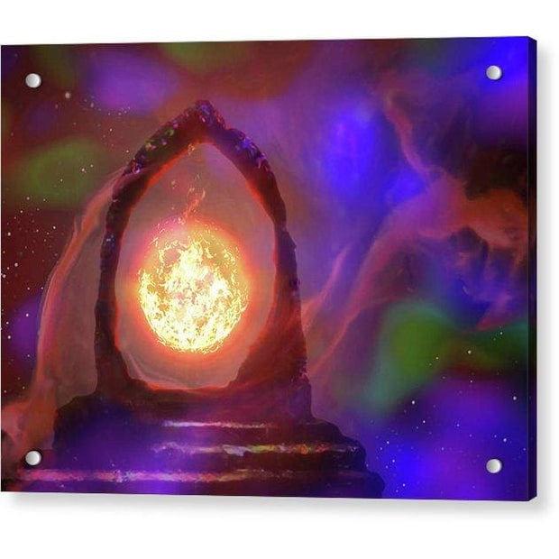 The Oracle - Acrylic Print - 8.000 x 6.000 / Aluminum Mounting Posts - Acrylic Print