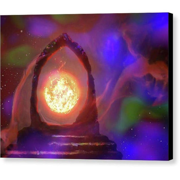 The Oracle - Canvas Print - 8.000 x 6.000 / Black / Glossy - Canvas Print