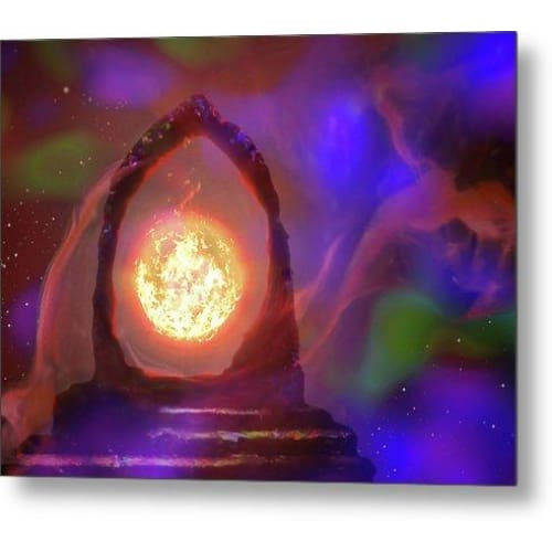 The Oracle - Metal Print - 8.000 x 6.000 - Metal Print