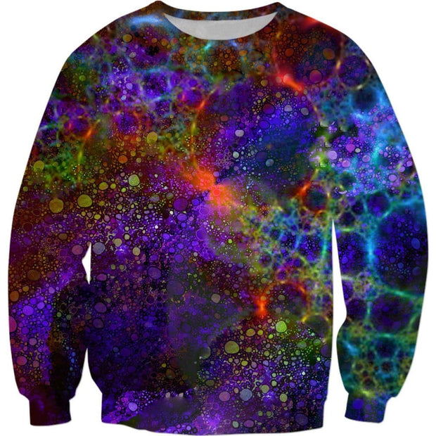 """Universe of Souls"" Sweatshirt - Up to size 5X! by Don White - Art Dreamer"