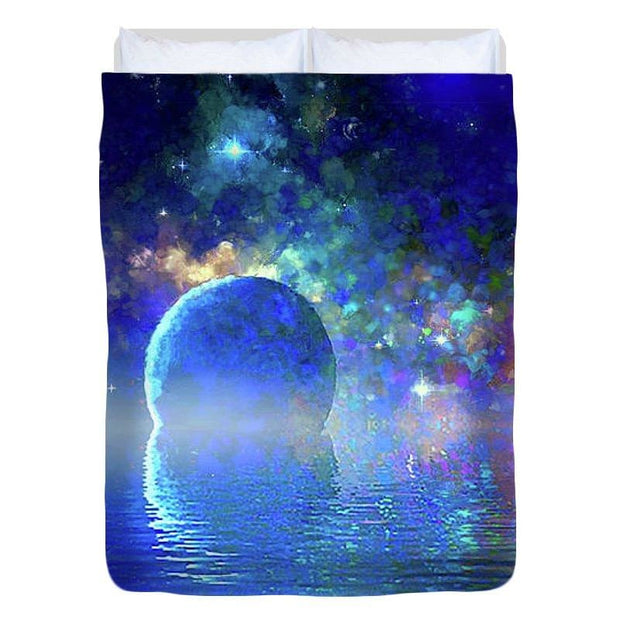 Water Planet One - Duvet Cover - Full - Duvet Cover