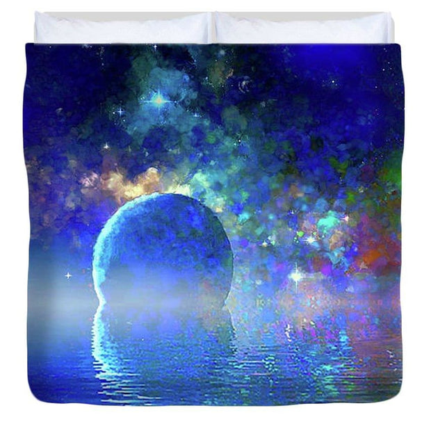 Water Planet One - Duvet Cover - King - Duvet Cover
