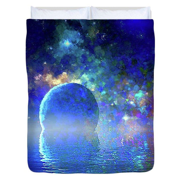 Water Planet One - Duvet Cover - Queen - Duvet Cover