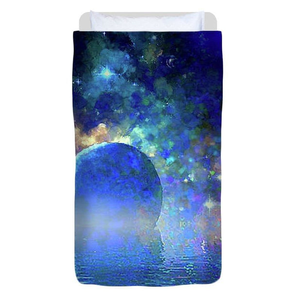 Water Planet One - Duvet Cover - Twin - Duvet Cover
