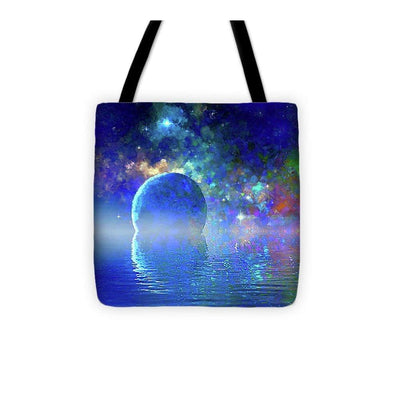Water Planet One - Tote Bag - 13 x 13 - Tote Bag