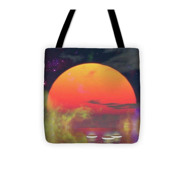Water Planet - Tote Bag - 13 x 13 - Tote Bag