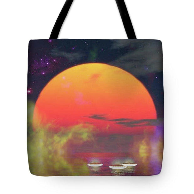 Water Planet - Tote Bag - 18 x 18 - Tote Bag