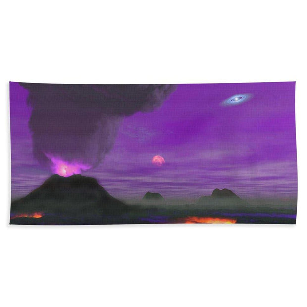 Young Planet - Beach Towel - Beach Towel (32 x 64) - Beach Towel