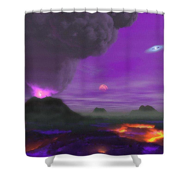 Young Planet - Shower Curtain - 71 x 74 Standard - Shower Curtain