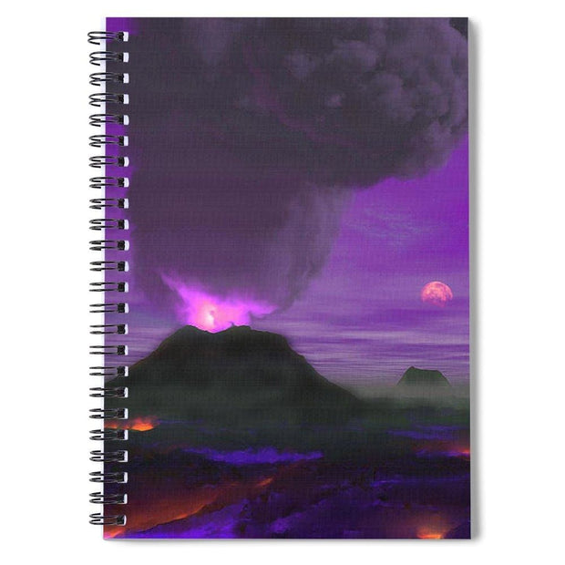 Young Planet - Spiral Notebook - 6 x 8 - Spiral Notebook