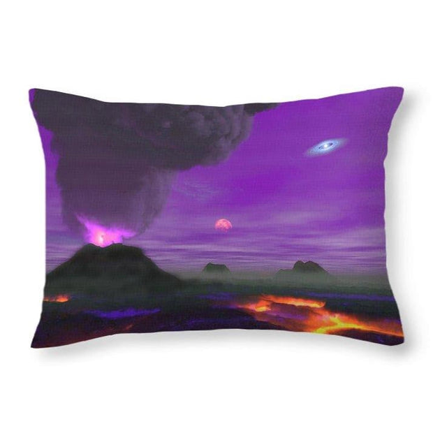 Young Planet - Throw Pillow - 20 x 14 / Yes - Throw Pillow