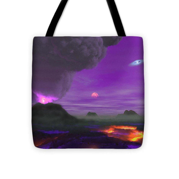 Young Planet - Tote Bag - 16 x 16 - Tote Bag