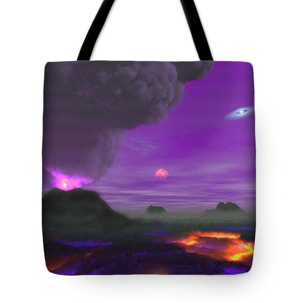 Young Planet - Tote Bag - 18 x 18 - Tote Bag