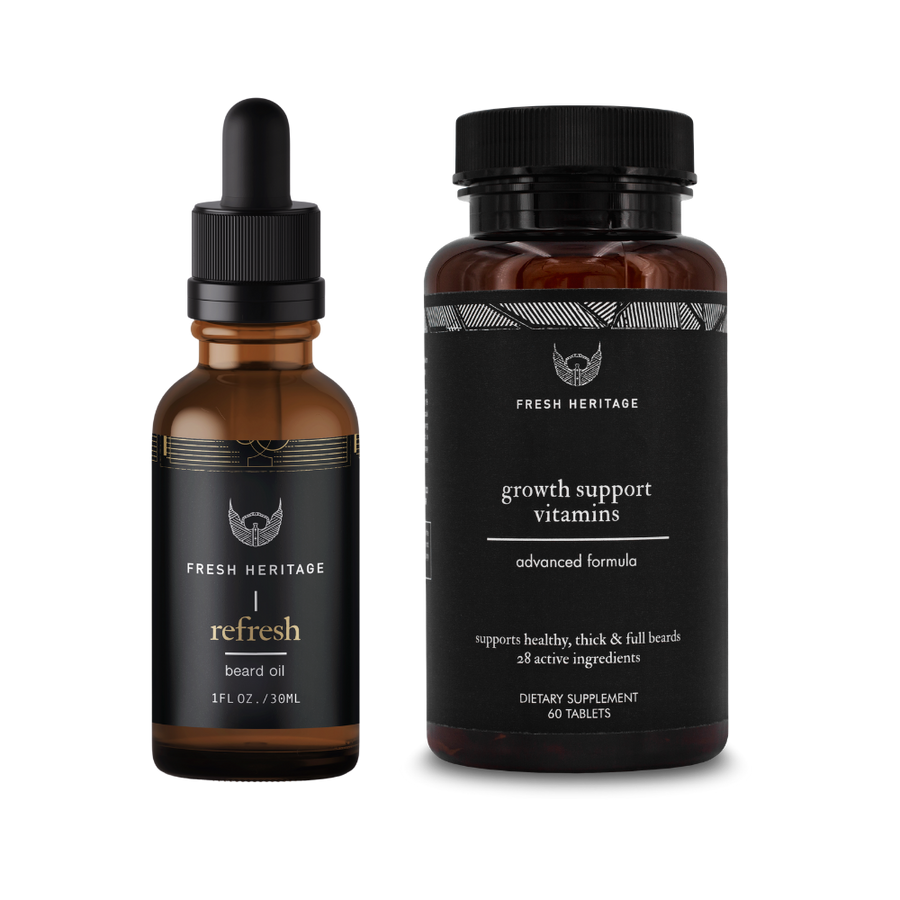 Beard Growth Kit - Vitamin