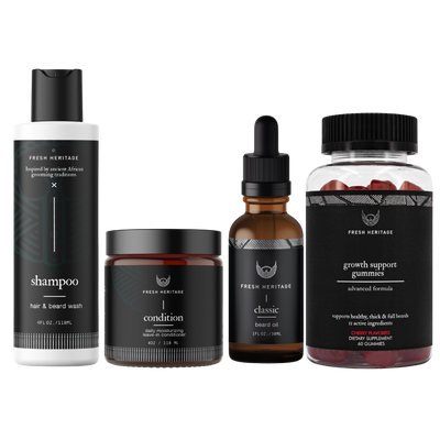Beard Growth Kit - Gummy Vitamin