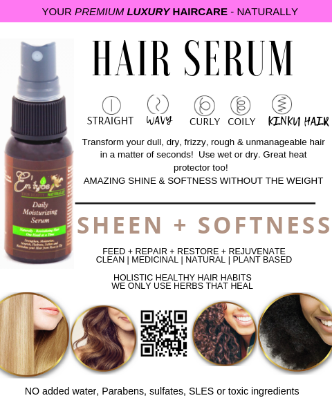 Daily Moisturizing Hair Serum