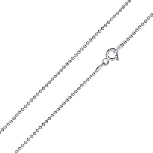 """024 Box Chain Diamond Cut 1.2mm Sterling Silver.925 Italy Lobster Claw 14/""""-24/"""""""