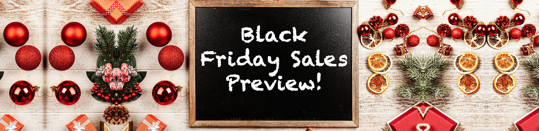 Black Friday Sales Preview!
