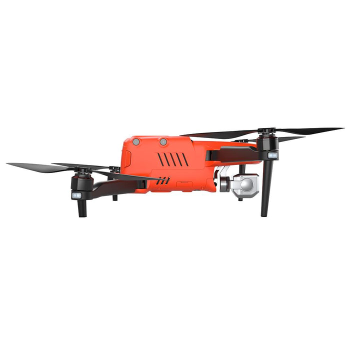 Sideview of Orange Autel Evo II 640 Thermal drone