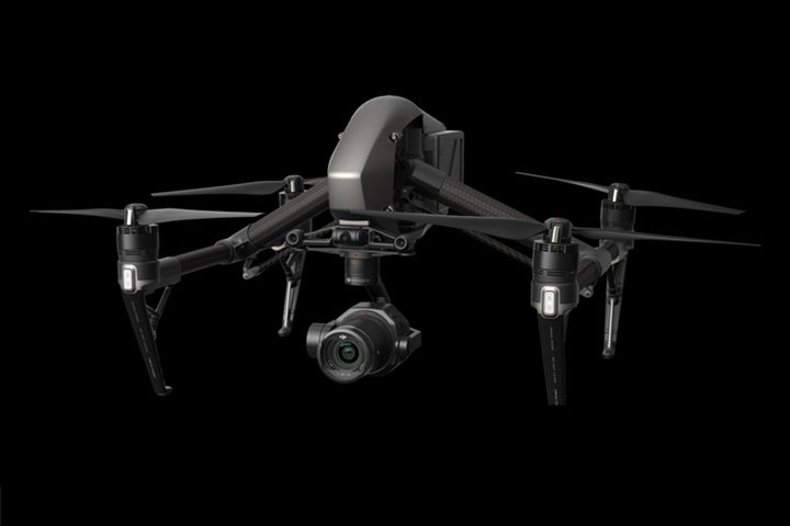 DJI Zenmuse X7 mounted on the Inspire 2