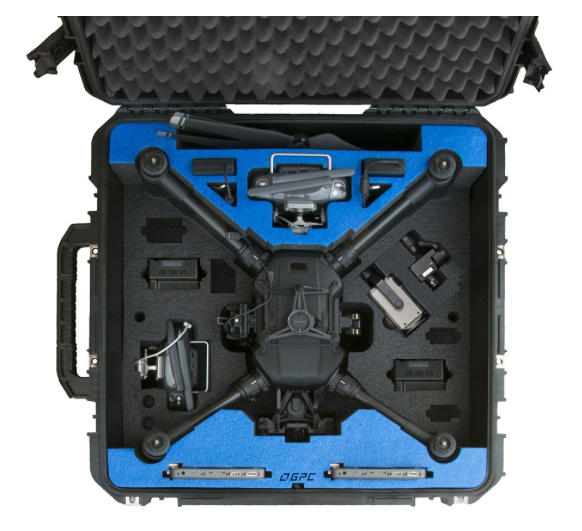 Go Professional Case - Matrice 200 aerial view