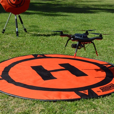 Launch Pad for Drone - Orange
