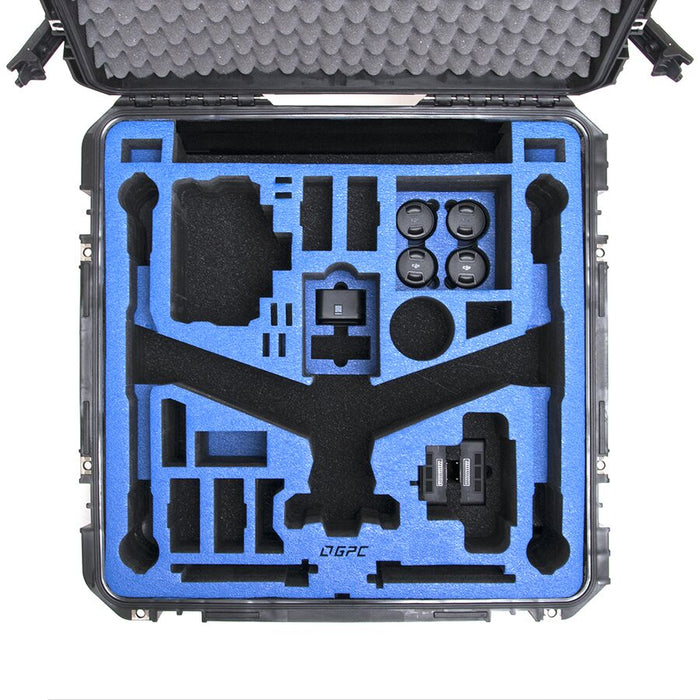 The Inserts on the Go Professional Case - Inspire 2 Travel Mode V.2