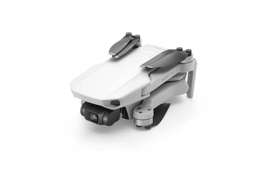 DJI Mavic Mini in collapsed folded position - white aircraft