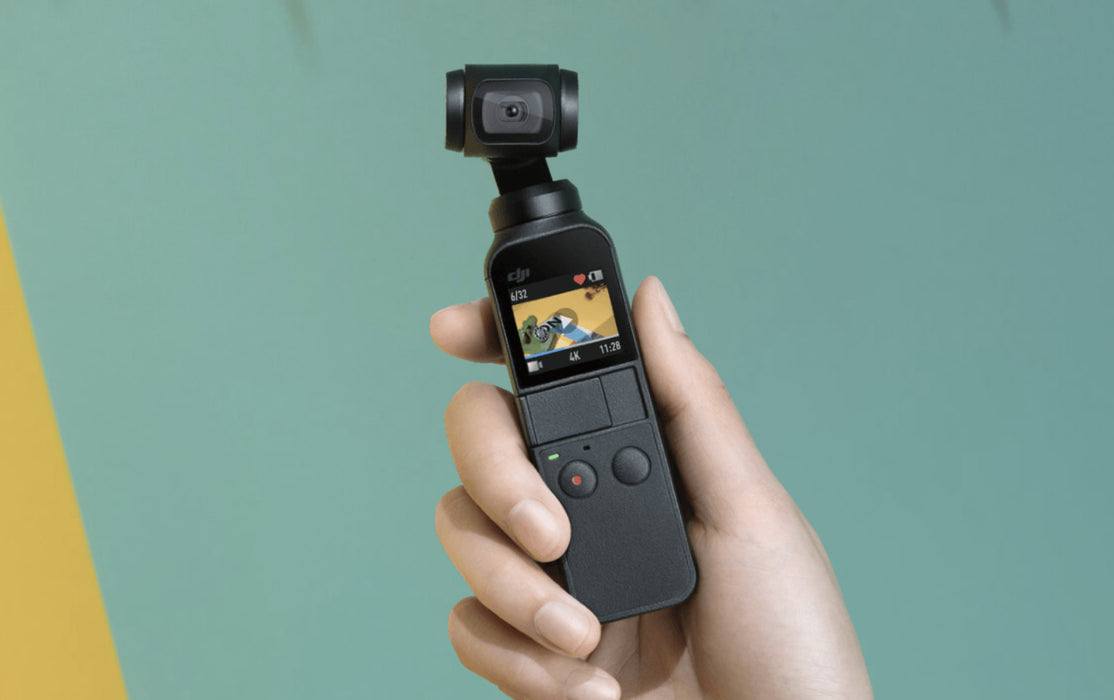 DJI Osmo Pocket In Use