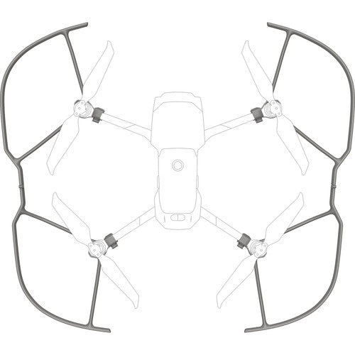 Set of 4 Propeller guards on drone