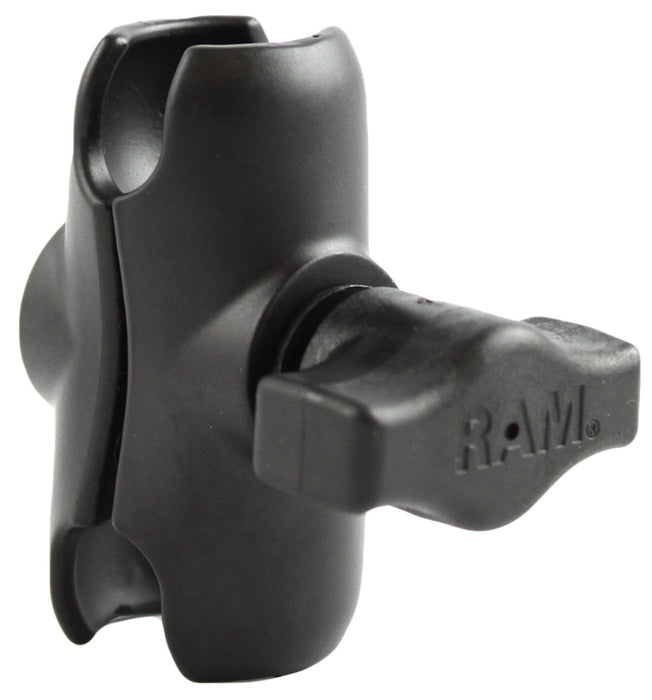 "RAM Short Double Socket Arm for B Size 1"" Balls"