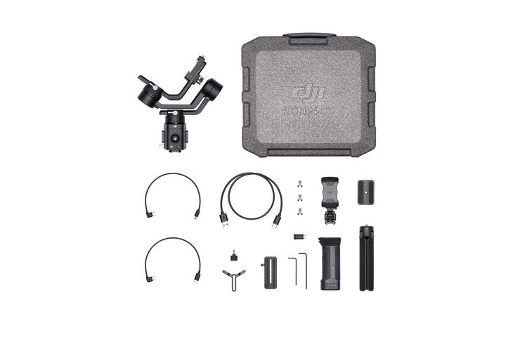 Everything included with the DJI Ronin-SC